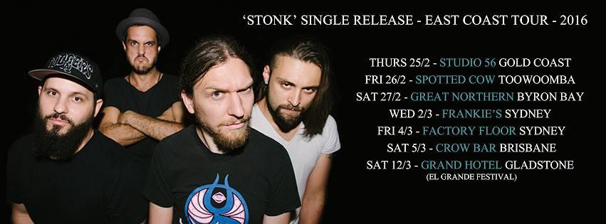 Osaka Punch Stonk Tour Dates