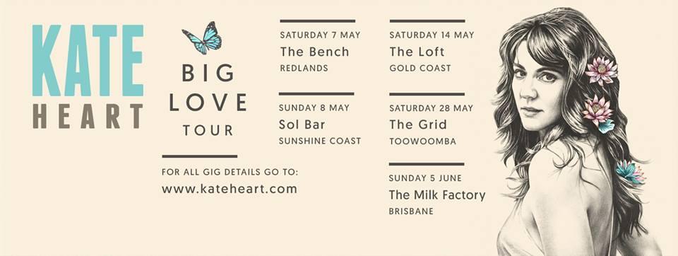 Kate Heart Tour Dates