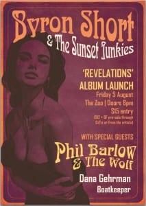 Byron Short Album Launch Poster