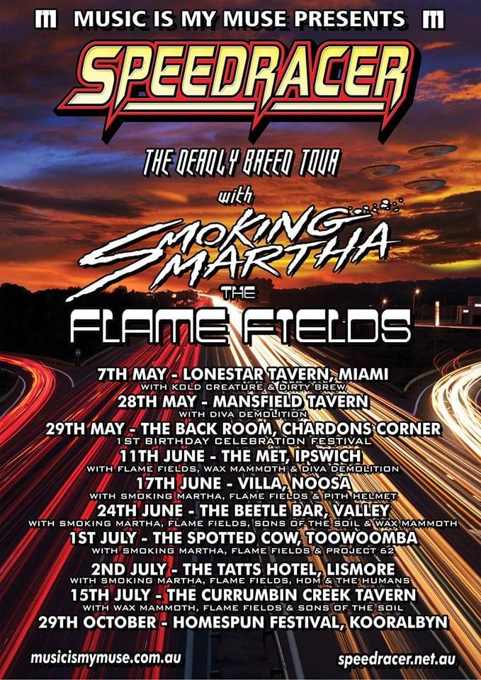 Speedracer Tour Poster