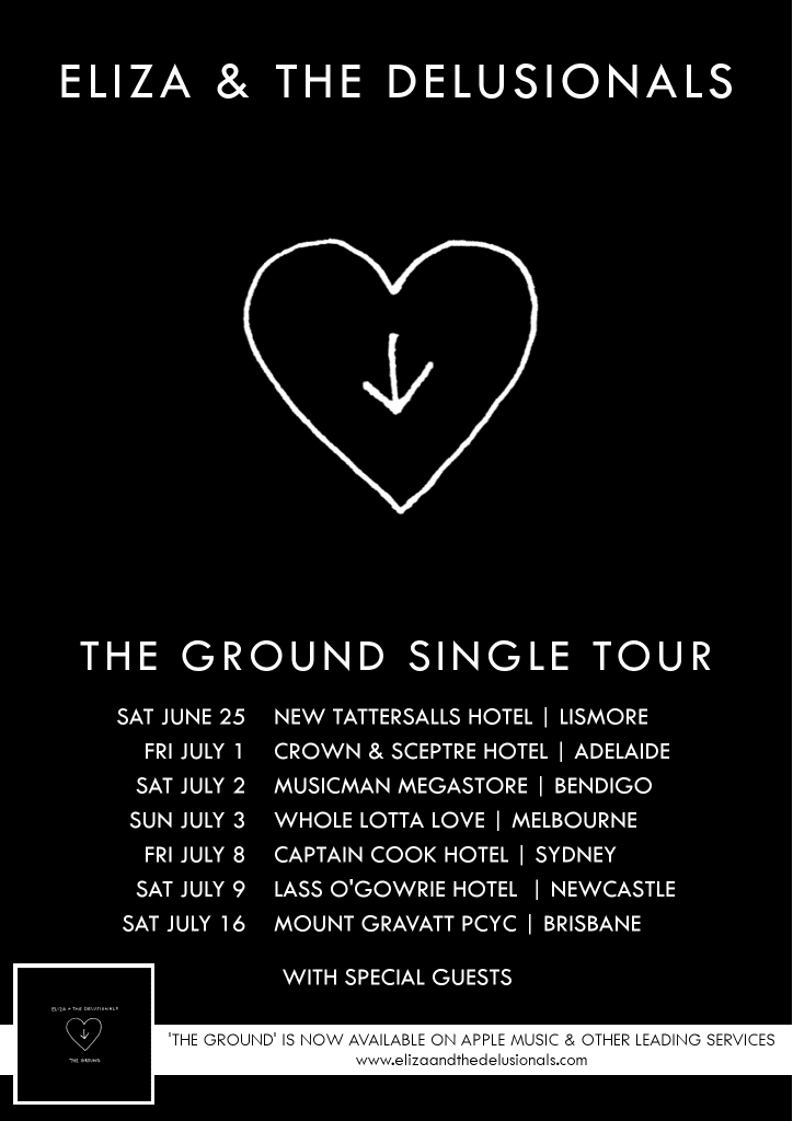 The Ground Tour Poster