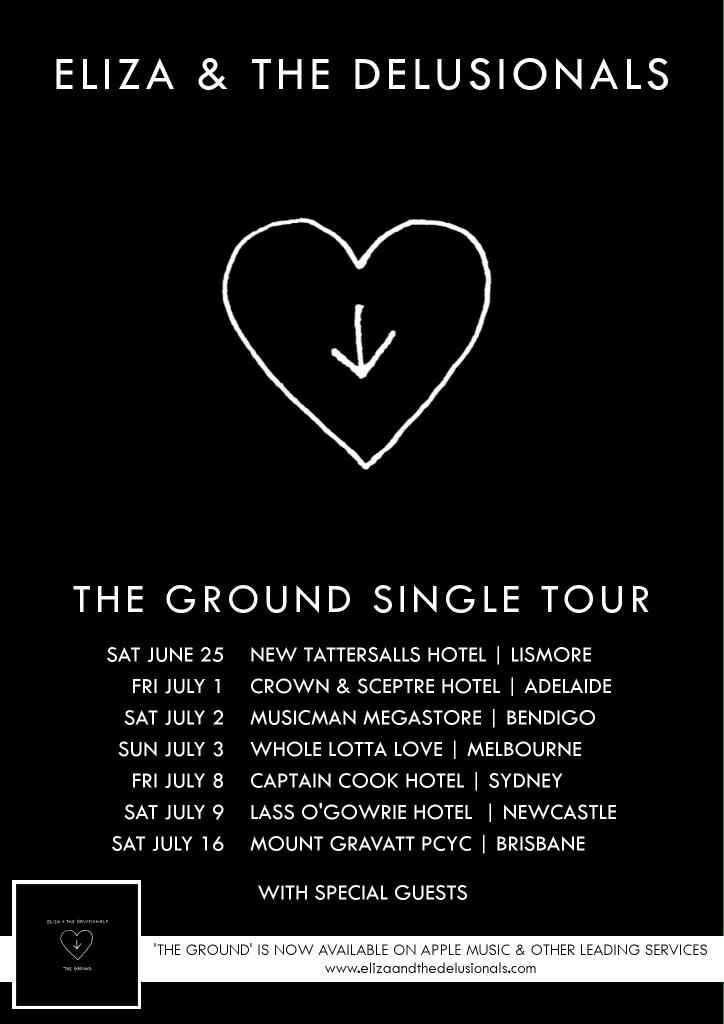 The Ground Tour Poster