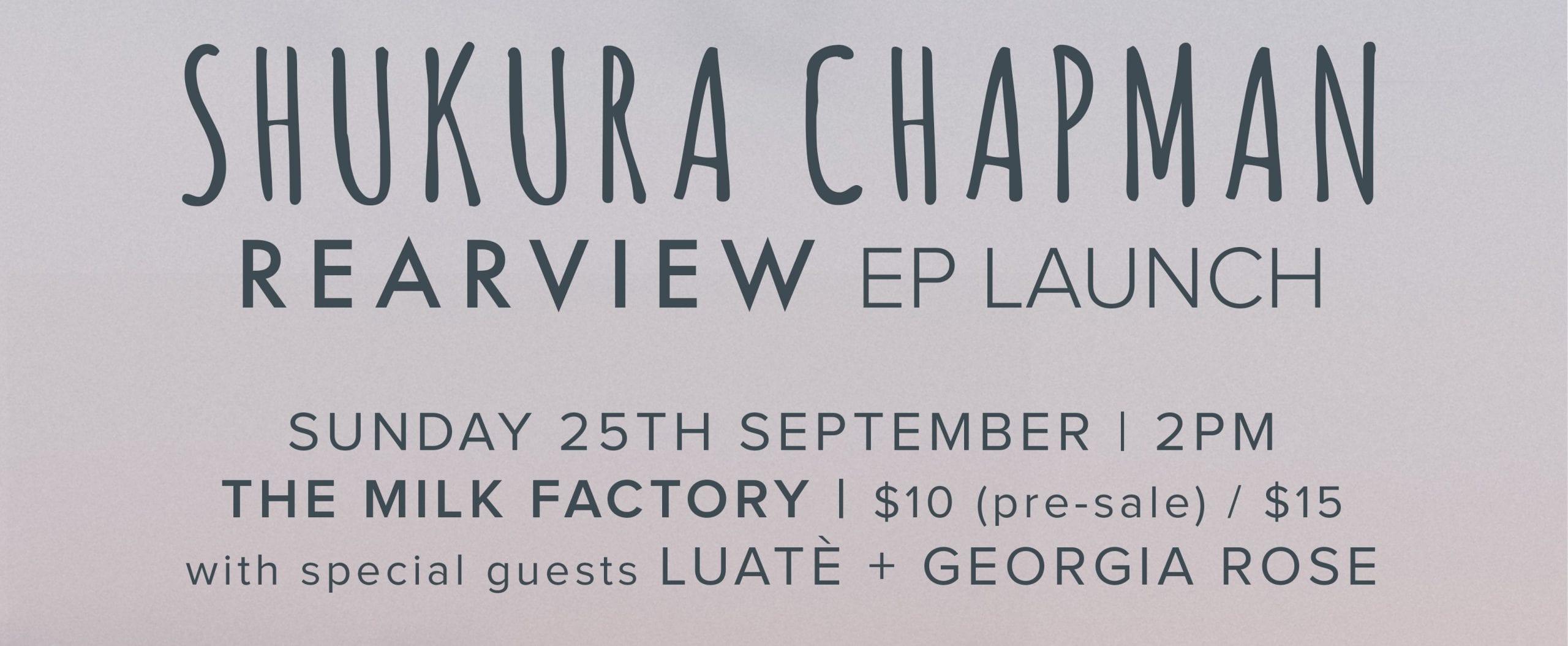Shukura Chapman - EP Launch