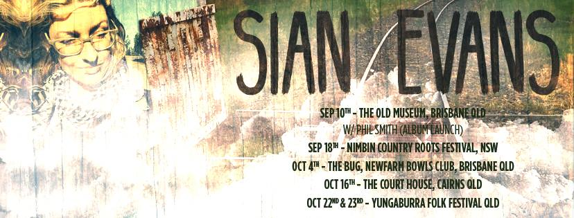 Sian Evans Tour Poster