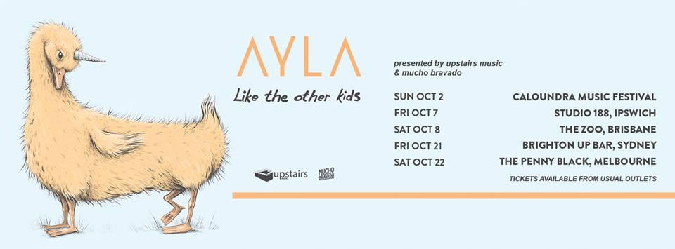 Ayla Tour Poster