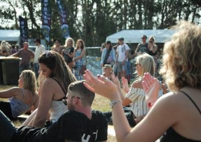 MMVAF: Crowd dancing @ The Francis Wolves