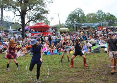 Red Deer Festival: Hula Hooping