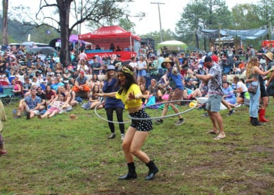 Red Deer Festival: Hula Hooping