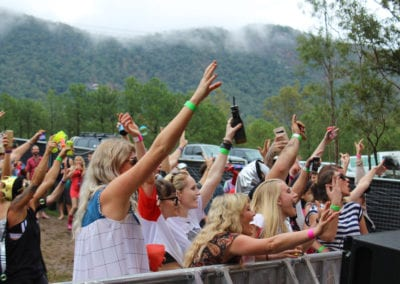 Red Deer Festival: Crowds